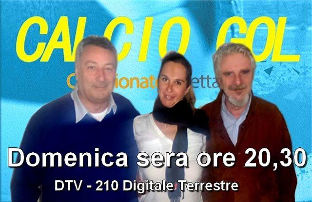 CALCIO GOL - Domenica sera CANALE 210